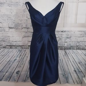 Special Occasion Cocktail Dress Navy Blue Size 2